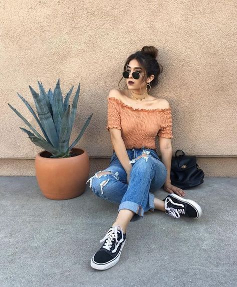 42 Stylish Summer Outfits Ideas To Copy Right Now - Damen Mode 2019