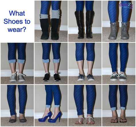LulaRoe Part Leggings - sizes, styling tips, legging hacks, Q&A LulaRoe Leggings paired with shoes - 11 plus different shoes to wear with leggings