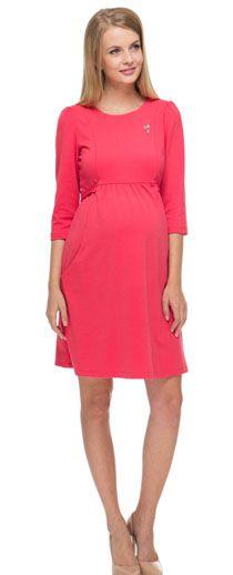 Платье Розберри малиновое для беременных и кормящих от ilovemum ... 298d8bd18fc