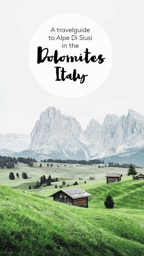 The Dolomites - hiking on Alpe Di Siusi - SarahintheGreen Travel Blog #italy #travel #travelguide