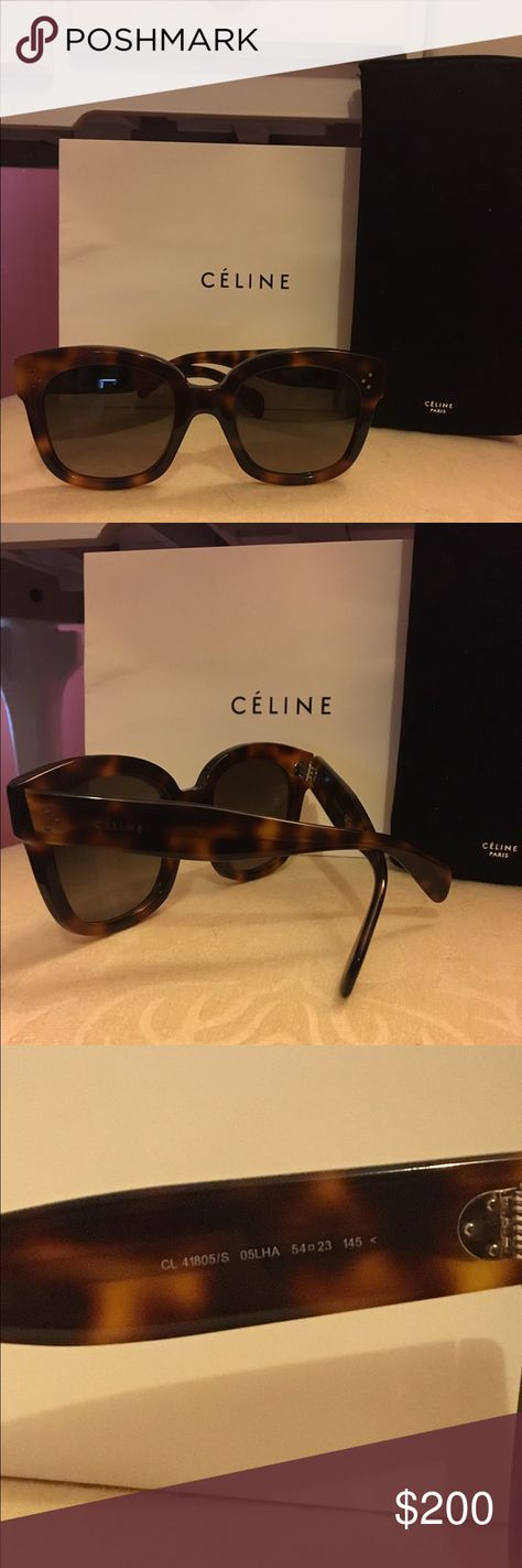 ce2d5ab9985 100% Authentic Celine Audrey Sunglasses Brand new! Comes with case