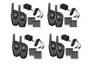 COBRA CXT225 MicroTalk 20 Mile GMRS//FRS 22 Channel 2-Way Radio Walkie Talkies 2