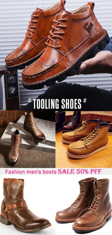 Men's Boots, Cool Boots, Sneakers Fashion, Fashion Shoes, Mens Fashion, Blue Timberland Boots, Mens Dress Hats, Mens Boots For Sale, Gents Shoes