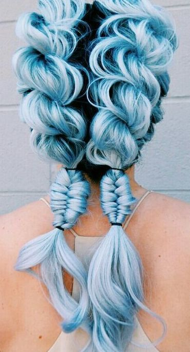 Easy Steps To Gorgeous Mermaid Hairstyle in 2019 | Pastel ...