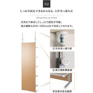 天井までの高さ2300余りの2 4材 断面38 89 をダボで二枚つないだ板が縦の柱 背面に1 4材を垂直に張り合わせ 壁裏の柱に