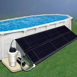 Above Ground Solar Heating 2 5x20 Ft Solar Heating 1 Collector Mounting Kit Sold Separately Pool Solar Panels Solar Pool Solar Heating System