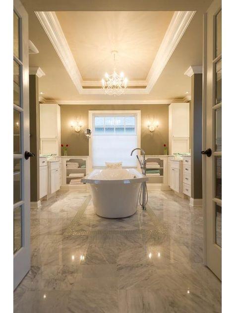 White Master Bath Lexington Ky