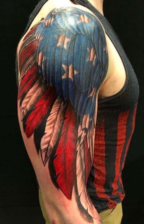 Thor Tattoo, See Tattoo, Cover Tattoo, Punisher Tattoo, Military Sleeve Tattoo, Military Tattoos, Usmc Tattoos, Cowboy Tattoos, Cover Up Tattoos For Men