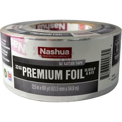 Details About Nashua 2 5 In X 60 Yd 324a Premium Foil Ul Listed Hvac Tape In 2020 Hvac Nashua Tape
