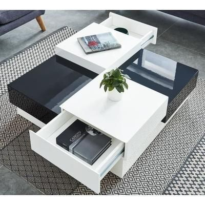 Table Basse En 2020 Table Basse Carree Table Basse Et Table Basse Blanc Laque