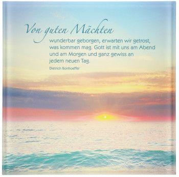 Acrylglas Relief Von Guten Machten Bonhoeffer Zitate Kommunion Gluckwunsche Trauerspruche