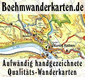 Wanderkarte Khaatal Massstab 1 10 000 Isbn 978 3 910181 20 5 Herausgeber Dr Rolf Bohm Kartographie Kartographie Elbsandstein Elberadweg