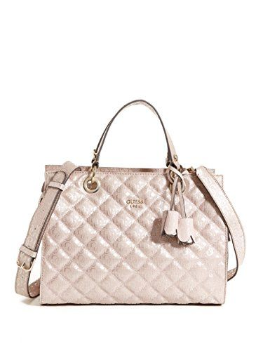 Guess Seraphina Quilted Satchel With