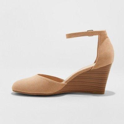 espadrille wedges closed toe wide width