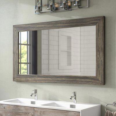Landover Rustic Distressed Bathroom, Landover Rustic Distressed Bathroom Vanity Mirror
