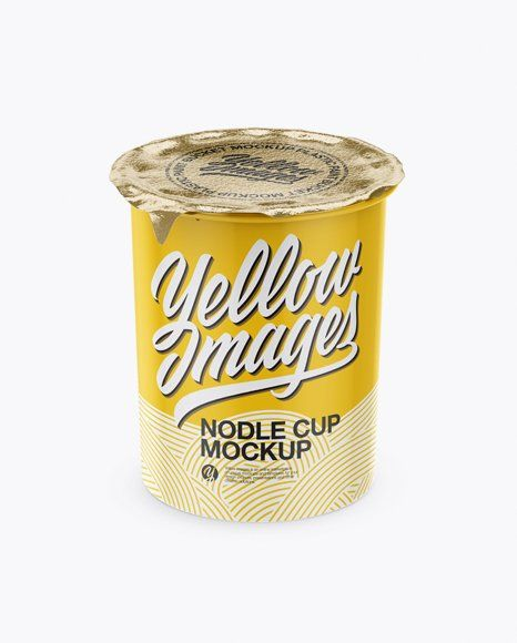 Download Noodle Cup Mockup Noodle Cup With Foil Lid Mockup High Angle Shot In Cup Bowl Mockup Free Psd Mockup Free Download Mockup Psd