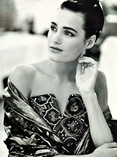 Yasmin Le Bon, photo by Peter Lindbergh 1990