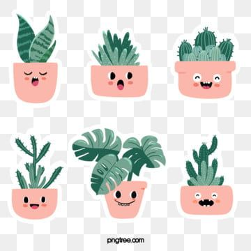 Home Pot Houseplant Green Plants Succulent Plants Tiger Piran Cactus Prickly Pear Cute Expression Potted Hand In 2021 Monstera Plant How To Draw Hands Cartoon Clip Art