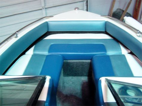 Collins Interior Boat Interiors Custom Boat Seats Boat Foam - Bayliner boat decalsfour winns sun downer boat back to back seatbase stand red