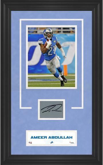 Fanatics Authentic Certified Barry Sanders Detroit Lions Autographed Duke Pro Football withLion King Inscription