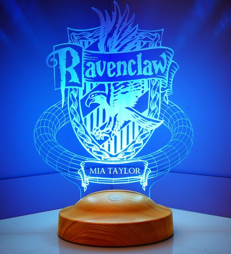 Harry Potter Ravenclaw Personalized 3D Lamp