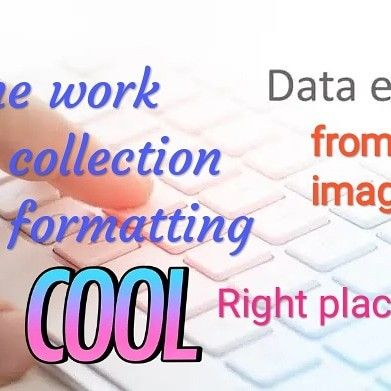 Indranilkarchow I Will Do Data Entry Typing Data Collection Jobs Online Or Offline For 5 On Fiverr Com In 2020 Data Entry Jobs Typing Jobs Data Entry
