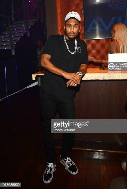 Singer Trey Songz Attends Birthday Bash Finale At Tongue Groove Trey Songs Trey Songz Birthday Bash