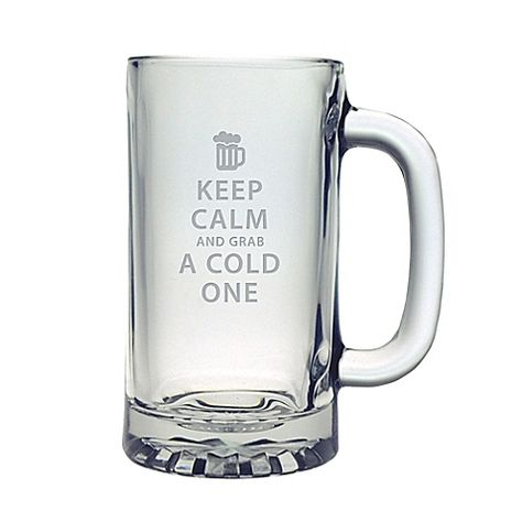 This Beer Mug will make a fun and stylish addition to his bar area. Features the phrase