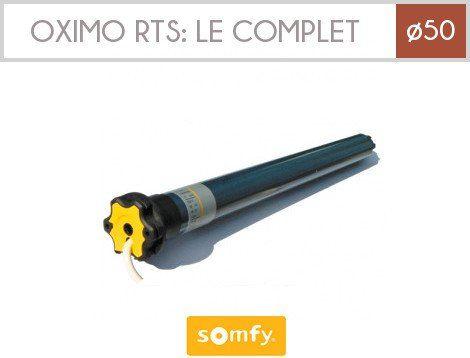 Somfy Moteur Oximo Rts 20 17 230v 50hz Pour Volets Roulants