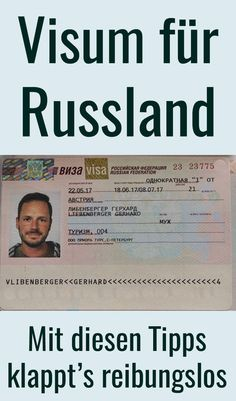 visa russland