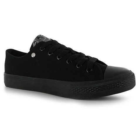 Dunlop Mens Canvas Low Top Trainers