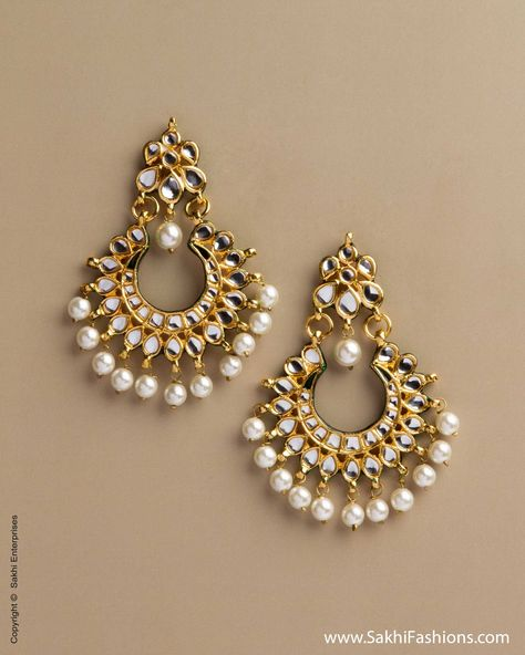 Sunny Indian Bollywood Gold Plated Blue Kundan Meenakari Earring Women Wedding Jewelr Soft And Light Jewellery & Watches