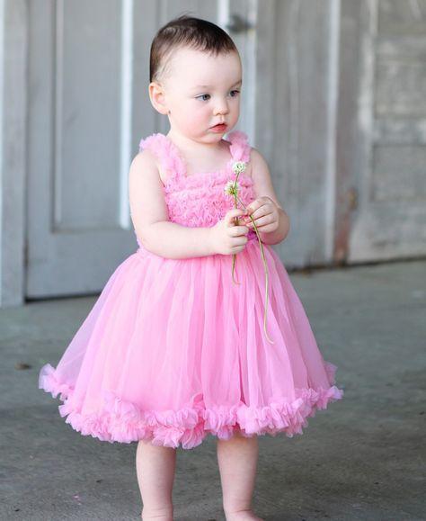 faf11d221 Pink Princess Petti Dress   Kurti   Dresses, Pink ruffle dress, Pink ...