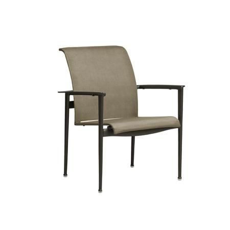 Flight Sling Arm Chair Outdoor Dining Chairs Brown Jordan Outdoor Dining Chairs Outdoor Chairs Dining Chairs