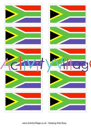 South African Flag Printable South African Flag Flag Printable South Africa Rugby
