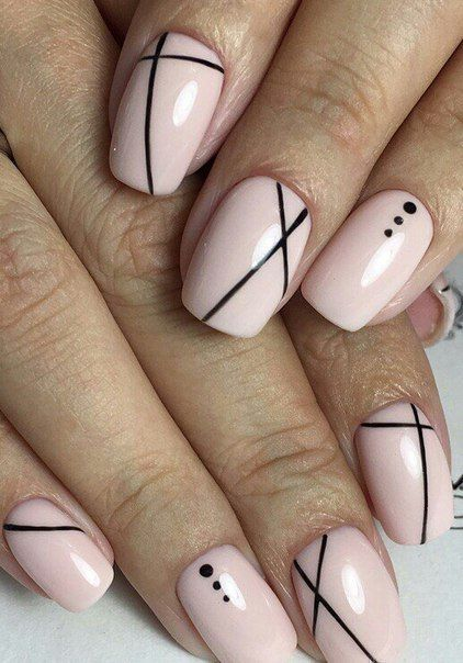 Best Nail Art Design To Cpe Now Acrylicnailssquoval Acrylicnailssquoval Acrylicnailssquoval D Lines On Nails Line Nail Designs Best Nail Art Designs