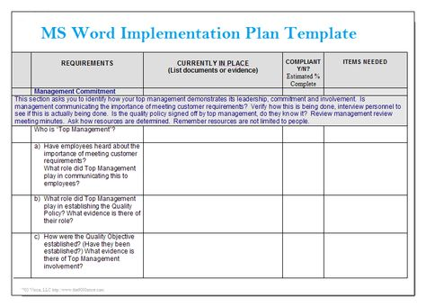 Simple Gap Assessment Format Template Projectemplates Excel - management review template
