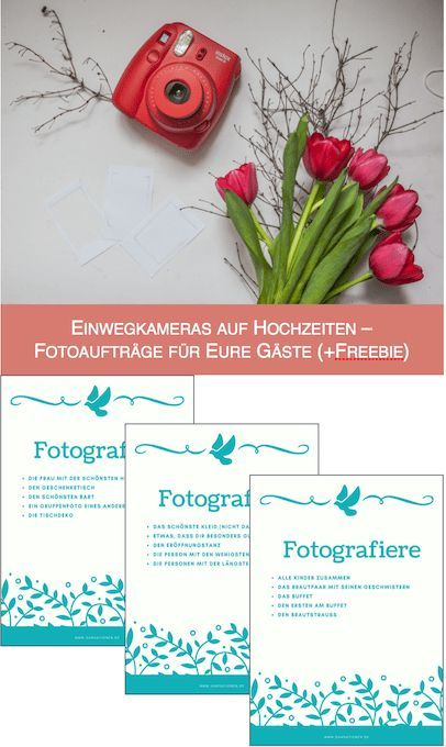 Disposable Cameras At Weddings Photo Assignments For Your Guests Freebie Hochzeit Einwegkamera Hochzeit Kameras