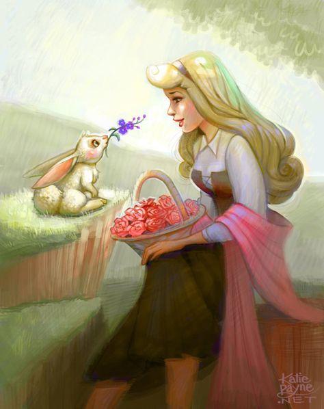 *BRAIR ROSE ~ Sleeping Beauty, 1959