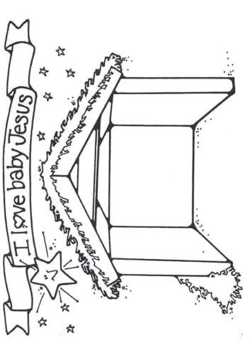 Stable Template Coloring Printable Nativity Coloring Pages Christmas Coloring Pages Coloring Pages