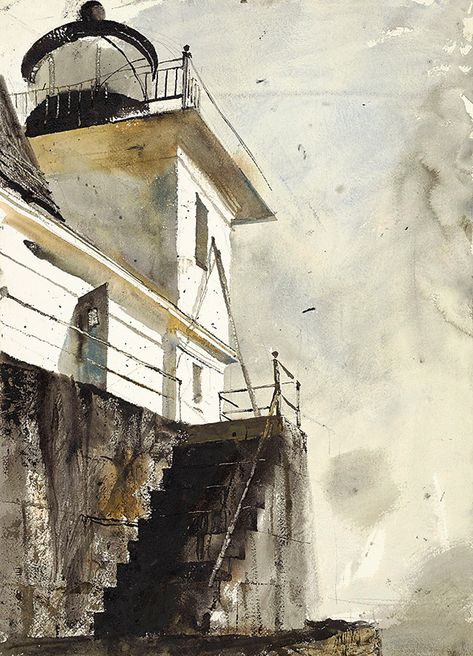 Andrew Wyeth's Rockland: Boats, planes and trains | Island Institute