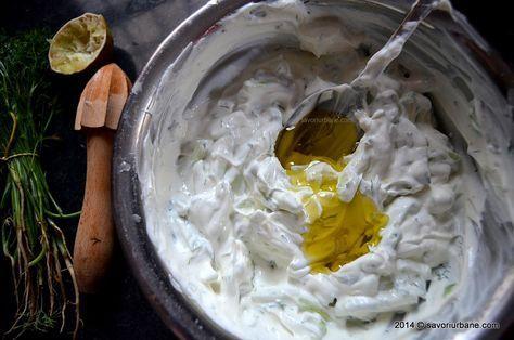 Toman Diet - Piept de pui cu sos tzatziki - Dieta Proteica