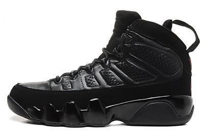 reputable site 6a1b1 9f990 hot sale 9 Bred Men Basketball Shoes 9s IV 9 black ...