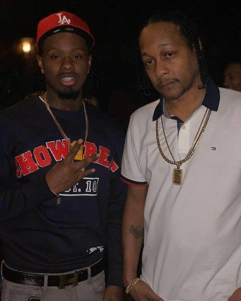 "Steven G With The Legendary West Cost Rapper/Producer @djquik New Sweater Available Now!!! Hit Up @showgreat.apparel_ For Sizes. ""ShowGreat The Squad""🎈 . . . . . #hot97 #thebreakfestclub #thereal923 #power106 #bigboy #swayinthemorning #eone #showgreatsquad #HipHop #xxlmagazine #vladtv #nojumper #buylyricallemonade  #bet #mtv #vh1 #everydaystruggle #nike #joebuddenpodcast #revoltsummit #lakergang #westcoast #djquik #djcarisma #laleakers"