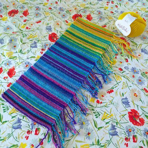 Sleepyeyes My Year In Temperature Scarf Knitting Ideas Garter
