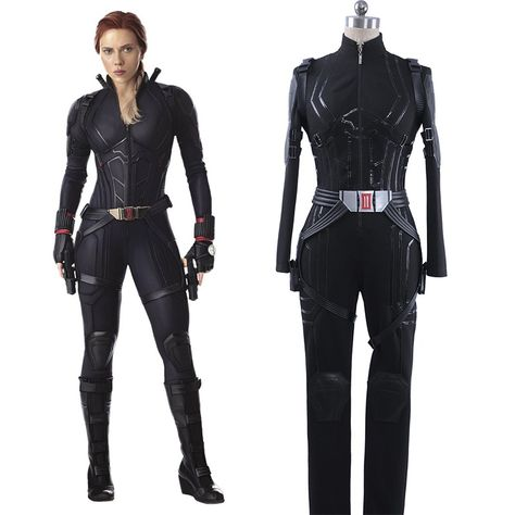 Marvel Avengers 4 : Endgame Black Widow Cosplay Costume Natasha Romanoff Outfit