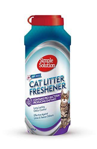 Simple Solution Refrescante Cat Litter Con Gránulos De Limpieza Enzimática 1 Unidad 600 G Arena Para Gatos Limpieza Dental Productos Para Mascotas