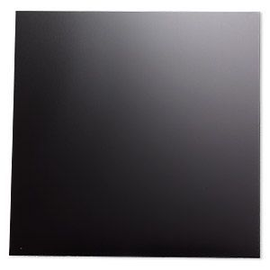 Sheet Anodized Aluminum Black 5 3 4 X 5 3 4 Inch Square 26 Gauge Sold Individually In 2020 Anodized Metal Sheet Sheet