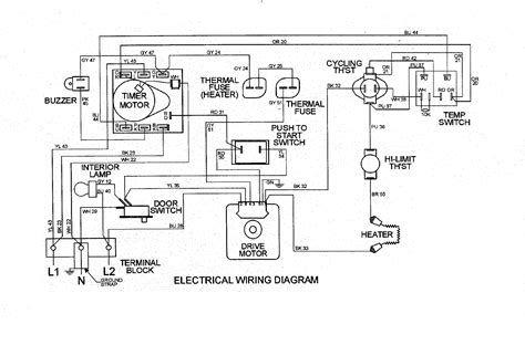 Wiring Diagram For A Maytag Dryer