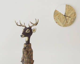 Pin Op Deer Figurines